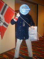 Fanime'11: Laughing Man by theEmperorofShadows
