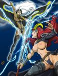Queens Blade vs. Marvel: Claudette Vs. Storm Uncut by dovianax