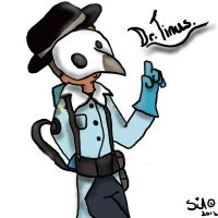 TF2 - Chibi - Request- Dr.Tinus! by Sniperisawesome