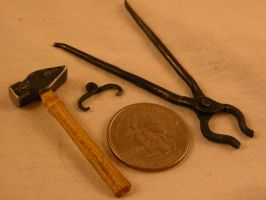 Little smithing tools 1 by AbeDoss
