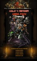 Halo 4 render mega pack by HACKSDENM3RK