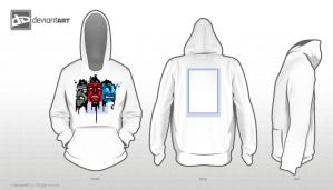 Warrior Mask Hoodie by Murushierago101