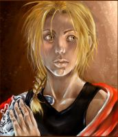 FMA: Spooked Edward by Chelsee