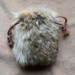 Coyote Fur Pouch by lupagreenwolf