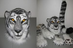 Silver Tiger Partial - SOLD by MaewynShadowtail
