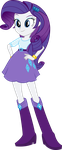 MLP EqG: Rarity by mewtwo-EX