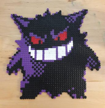Gengar Bead Sprite by LukeBlizz