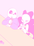 UT: A ketchup malt fresh from Grillby's by AD-SD-ChibiGirl
