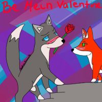 germany fox valentine by lupalover101