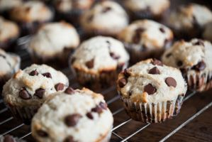 Chocolate Chip Muffins by veWoz