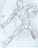 Superhero Anatomy pose by 0Melodious-Nocturne0