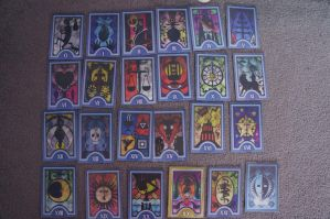 Persona Tarot Cards Props Update by TMLiza