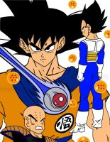 Dragon Ball Z the good one by Stewie56