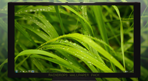 Raindrops Wallpaper Pack by ArchitekOGP