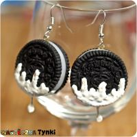 Oreo with milk by ciasteczkatynki
