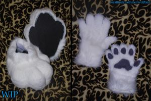 Scar's Paws (WIP) by Wolfbird