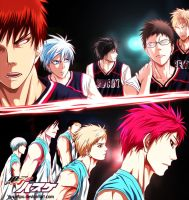 Rakuzan VS Seirin by Yusuflpu