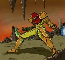 Super Metroid by SilverhawkPX-45