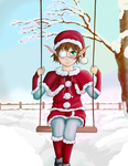 Christmas Natsu-chaan~ *contest entry* by HaiiroOni