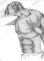 Anime Hulk withnew musculature by moose-lee