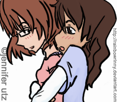 best friends-colored by yuuki by rainbowrinny