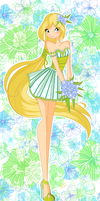 Tropical Starly by florainbloom