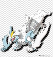 White Kyurem by Cachomon