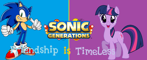 Sonic Generations - Friendship is Timeless banner by bvge