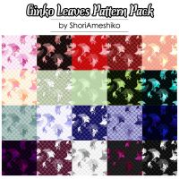 Ginko Leaves Pattern Pack by ShoriAmeshiko