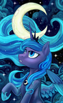 Luna Icon by Hobbes-Maxwell
