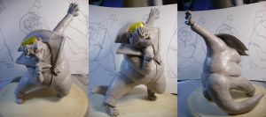 Maquette- Roger Servichi by Fyuvix