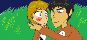KAWAII SUGOII ARMIN X EREN YAOI OF DESU by Shadowthehedgehog57