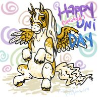 Happy -Belated- Uni Day by theclumsycorvid