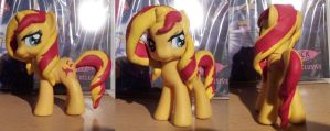 Sunset Shimmer - Custom by CelestPapermoon