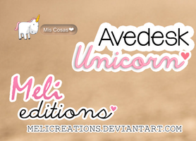 Avedesk Unicorn by Meli Creations by MeliCreations