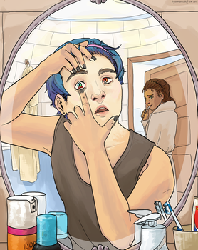 Morning Routine [COMPETITION] by TigerMoonCat