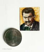 Minuscule Paul Cezanne by Paintsmudger
