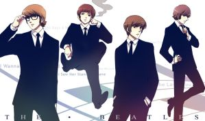 .: The Beatles :. by PepperMoonFlakes