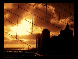 New York Silhouette by GVA
