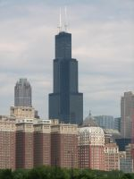 Sears Towers by QuantumEcho