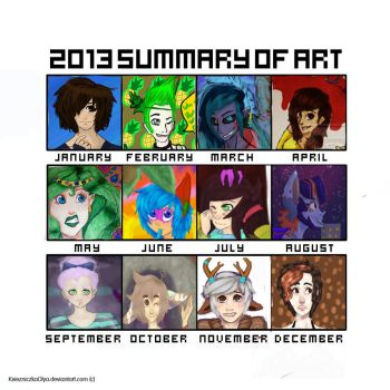 2013 Art summary: Oh god help by King-Poutine
