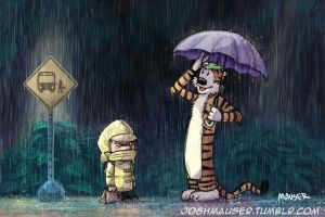 My Neighbor Hobbes by joshmauser