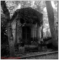 Mausoleum in Pere Lachaise by ethankurgan75