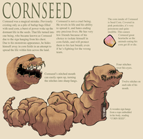 Cornseed Reference by LupisDarkmoon