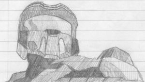 Master Chief by saffiremoon21