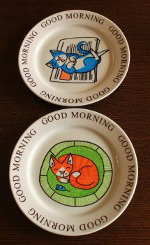 Kitty plates for sale by AnNuttin