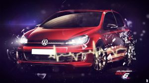 Volkswagen Golf 6 by Nablo92