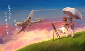 The Wind Rises by starryjohn