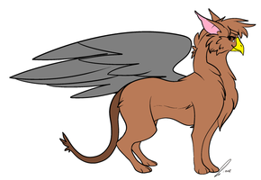 Me as a Griffin by GolfingQueen