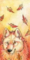Autumn bookmark by Suenta-DeathGod